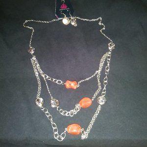 Paparazzi Long Necklace #431 Orange